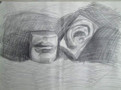 我女朋友画的,画成这样我看不见前途。我考虑要和她分手了,你们觉得呢?